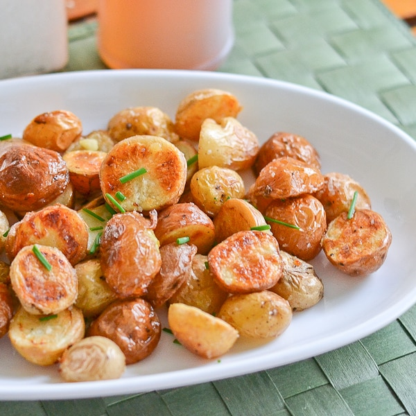 Salt and Vinegar Roasted Potatoes - Salu Salo Recipes