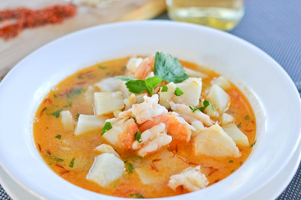 Catalan style fish soup salu salo recipes for Fish broth recipe