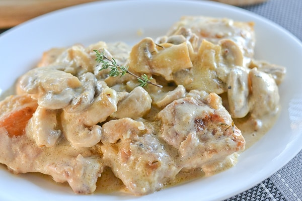 Creamy Chicken and Mushroom Skillet - Salu Salo Recipes