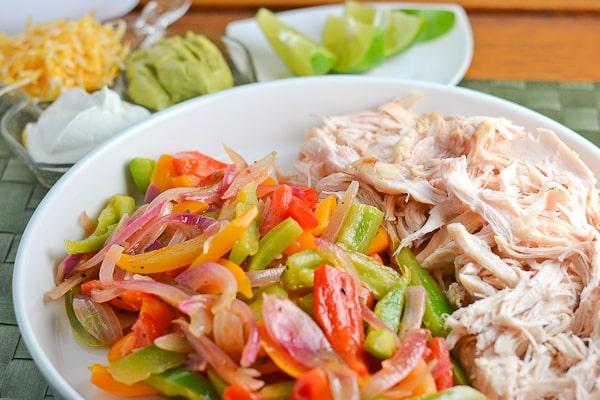 Easy Chicken Fajitas - Salu Salo Recipes