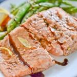 Five Spice Glazed Salmon