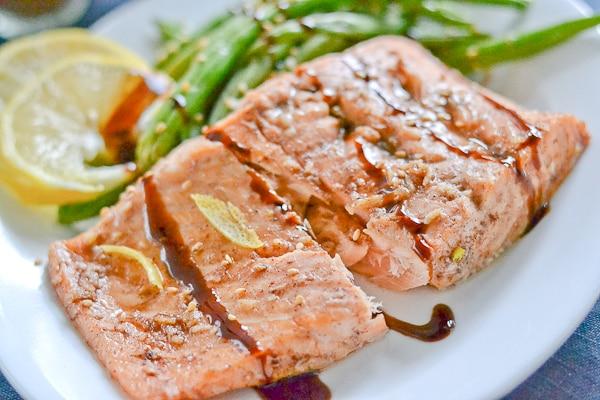 Five Spice Glazed Salmon - Salu Salo Recipes