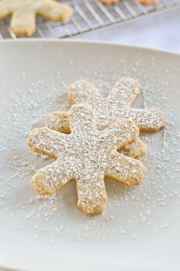 Black Tea Sugar Cookies