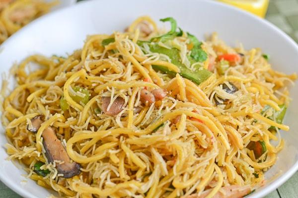 Pancit Canton and Bihon - Filipino Noodles
