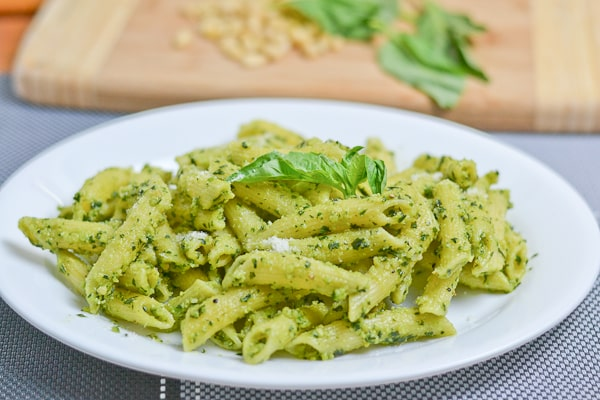 Pesto Penne - Salu Salo Recipes