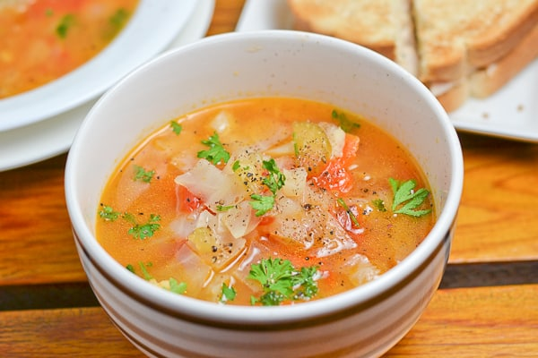 Cabbage Soup Salu Salo Recipes
