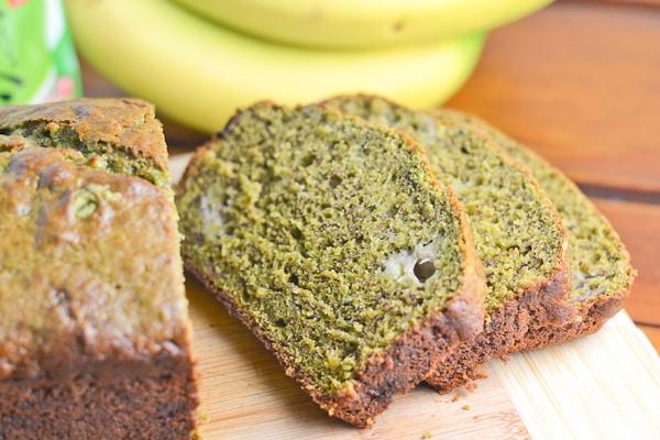 Green Tea Banana Bread