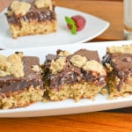 Oat Fudge Bars