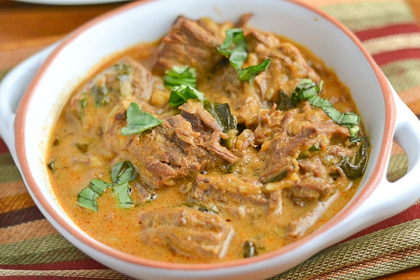 Slow Cooker Thai Red Curry Beef - Salu Salo Recipes
