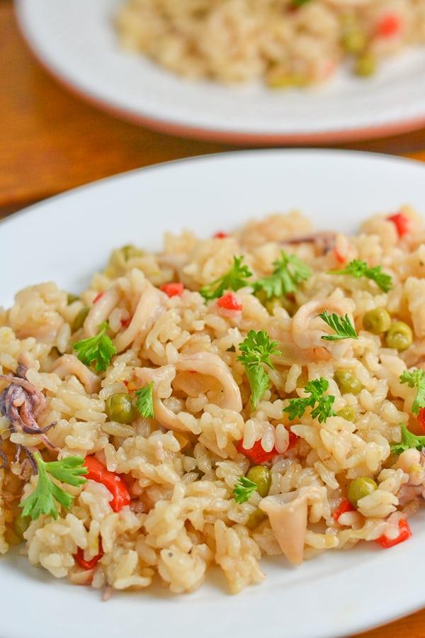 Arroz con Calamares - Rice with Squid
