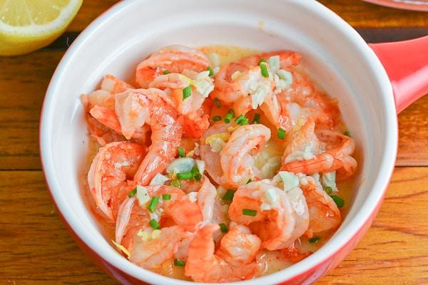 Shrimp with Lemon Garlic Butter