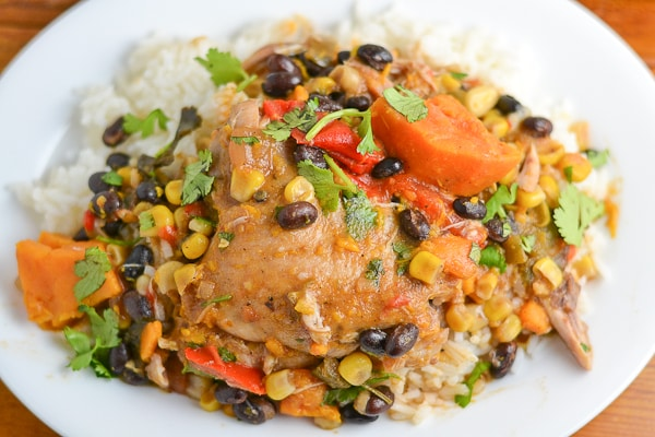 Slow Cooker Latin Style Chicken - Salu Salo Recipes