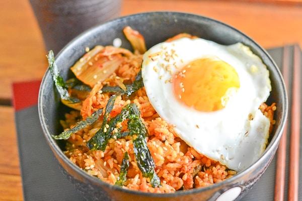 Bacon Kimchi Fried Rice