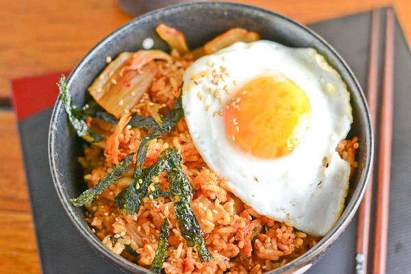 Bacon and Kimchi Fried Rice - Salu Salo Recipes