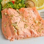 Broiled Trout with Lemon and Rosemary