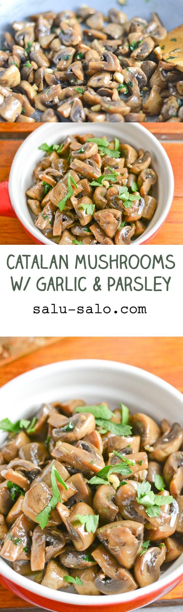 Catalan Mushrooms with Garlic and Parsley