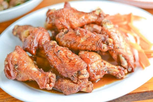Adobo Fried Chicken Wings