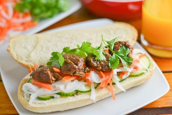 Pork Adobo Banh Mi