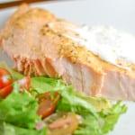 Greek Style Baked Salmon