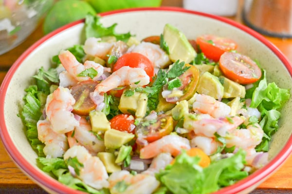 Shrimp, Avocado and Tomato Salad - Salu Salo Recipes
