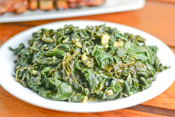 Lemon-Garlic Kale Saute Recipe — Dishmaps