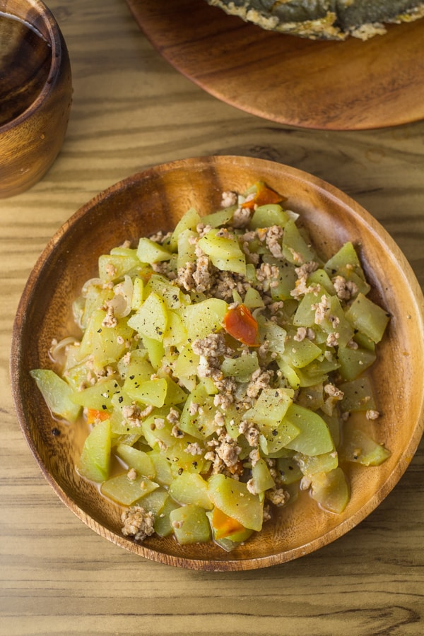 Sauteed Chayote Ginisang Sayote Salu Salo Recipes