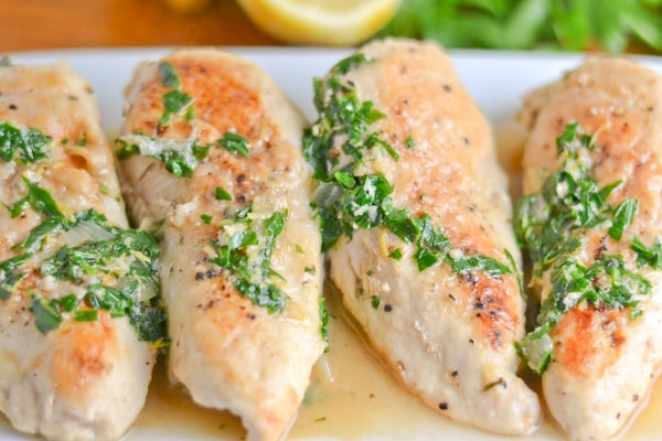 Sauteed Chicken Breasts with Gremolata