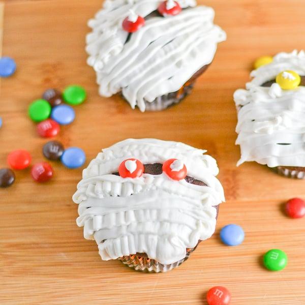 Mummy Chocolate Cupcakes - Salu Salo Recipes