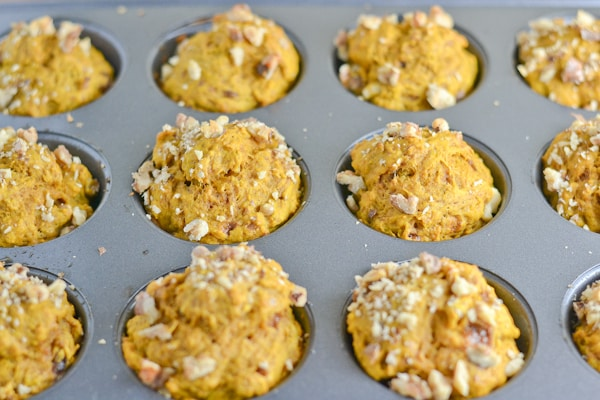 Pumpkin Spice Muffins