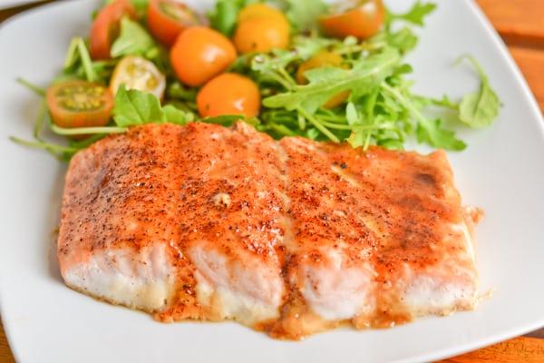Brown Sugar Spiced Salmon