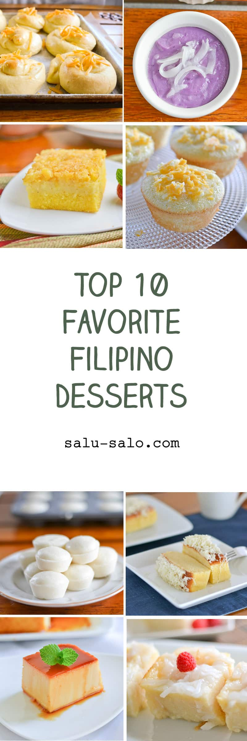 Top 10 Favorite Filipino Desserts
