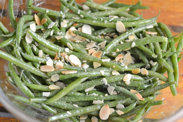 French Green Bean with Mustard Vinaigrette