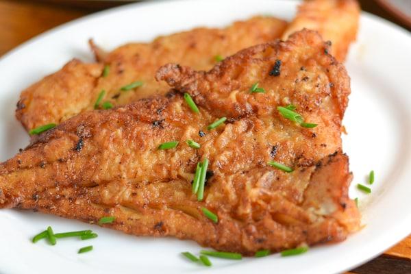 Pan Fried Soy Fish
