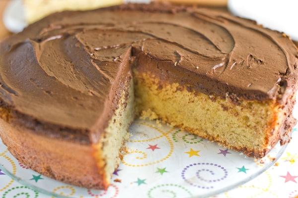Hazelnut and Chocolate Mousse Cake