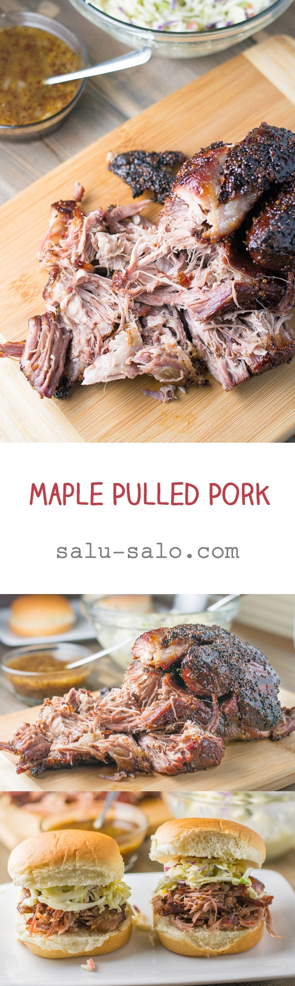 Maple Pulled Pork