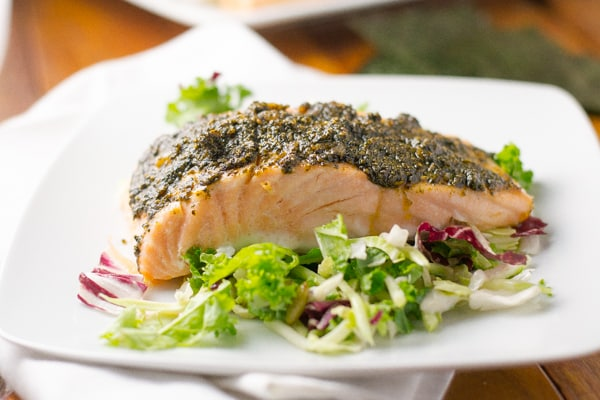 Nori Crusted Salmon