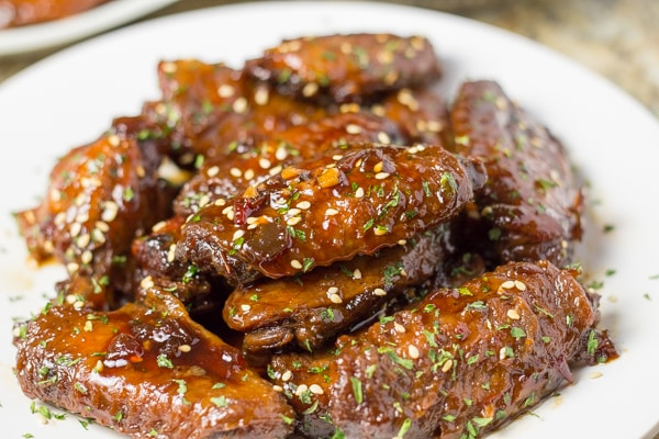 Slow Cooker Honey Wings