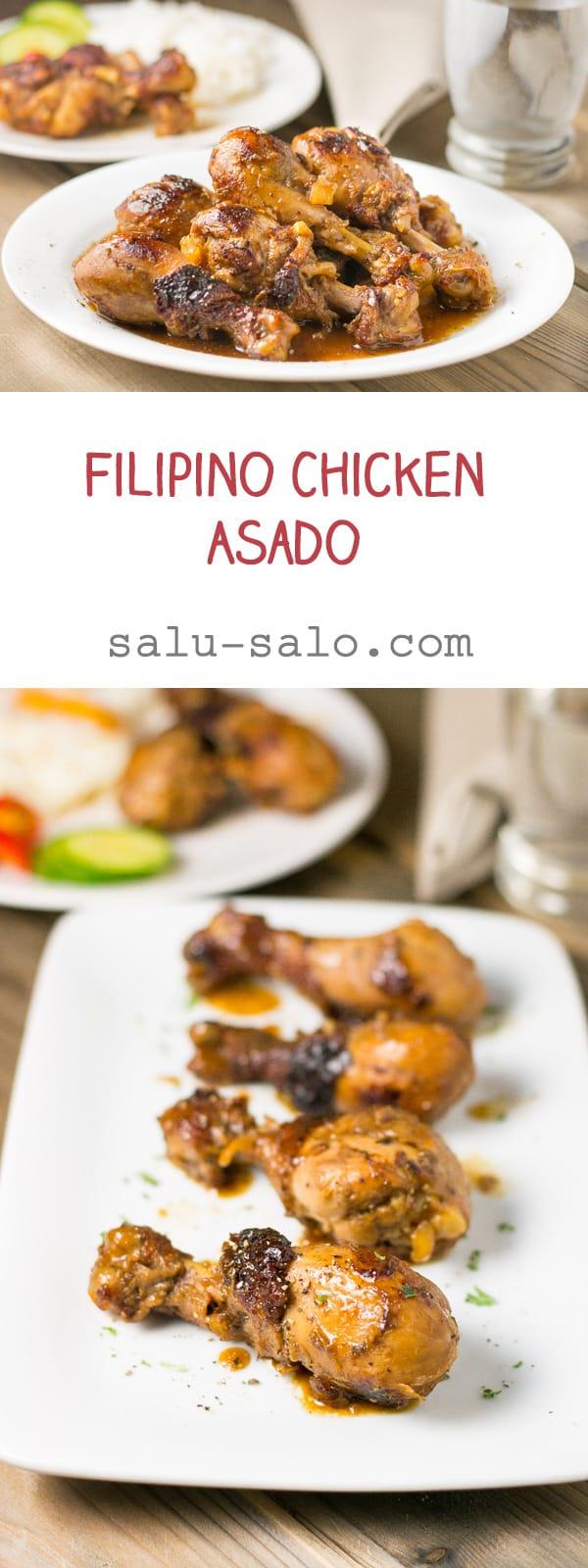 Filipino Chicken Asado