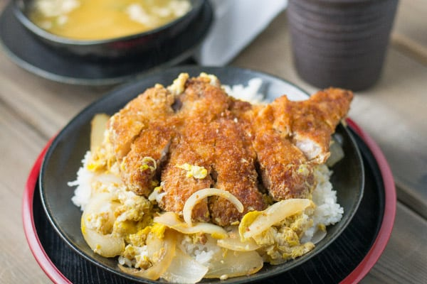 Katsudon Pork Cutlet on Rice