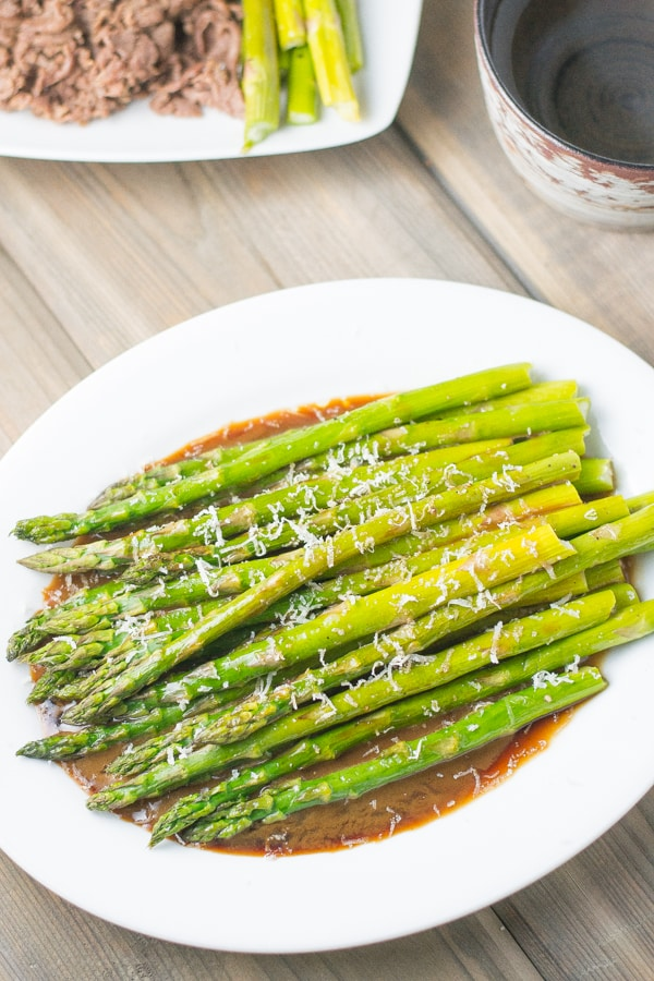 Roasted Asparagus with Balsamic Soy Dressing - Salu Salo ...