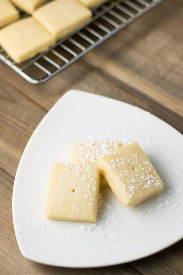Classic Shortbread Cookies - Salu Salo Recipes