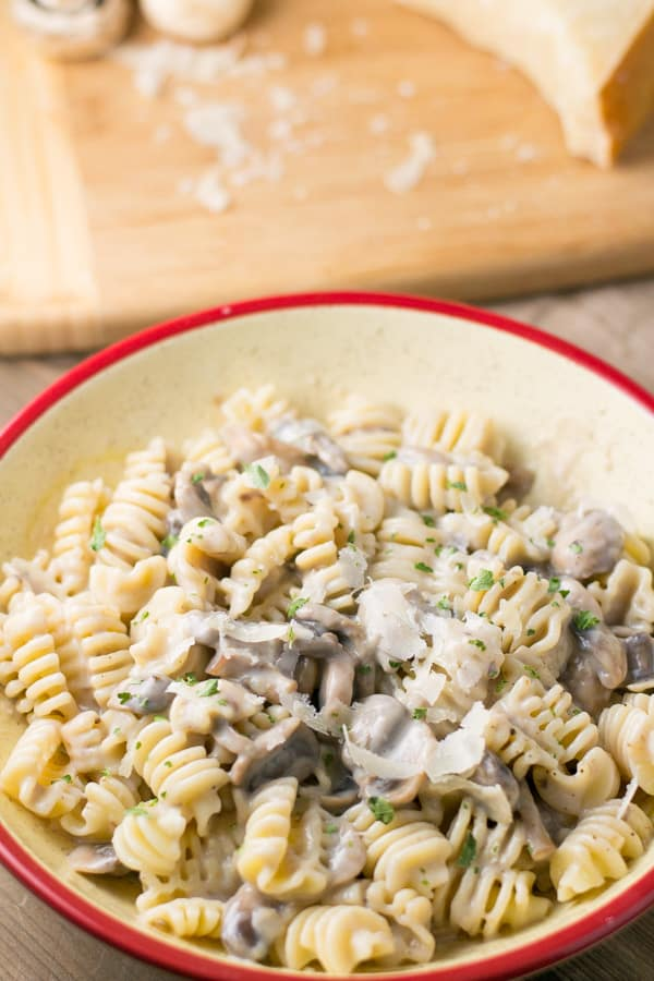 Cream Of Mushroom Pasta Salu Salo Recipes