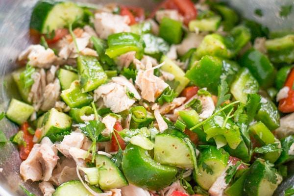 Chicken Fattoush Salad-2