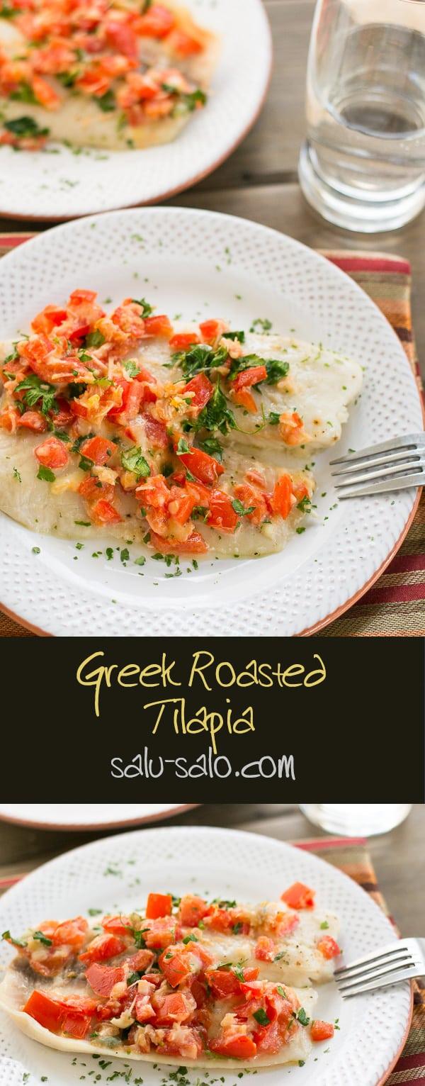 Greek Roasted Tilapia