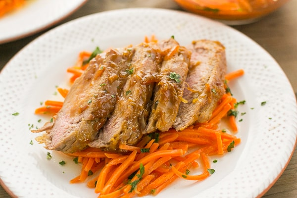 Orange Ginger Pork Tenderloin