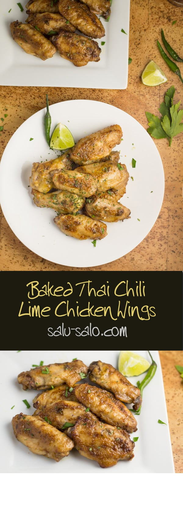 Thai Chili Lime Chicken Wings