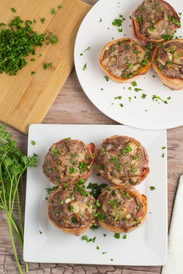 Bacon Wrapped Mini Meatloaf Salu Salo Recipes