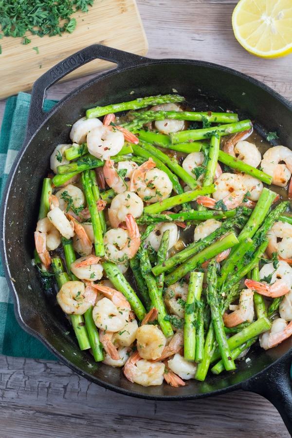 Shrimp And Asparagus Stir Fry Salu Salo Recipes