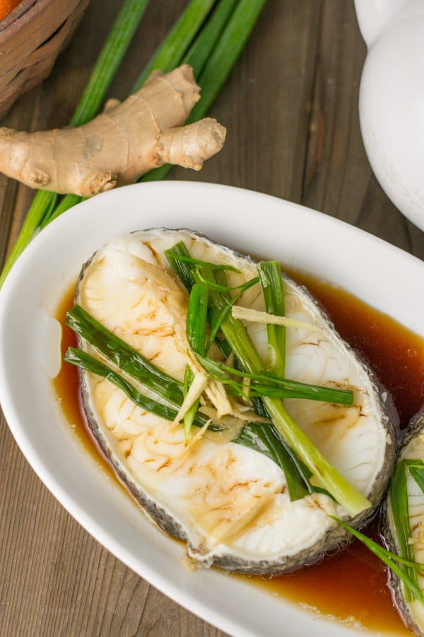Steamed Sea Bass - Salu Salo Recipes