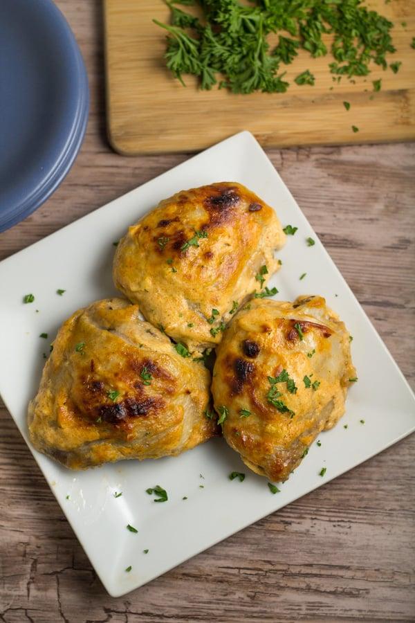 Yogurt Marinated Chicken Thighs Salu Salo Recipes
